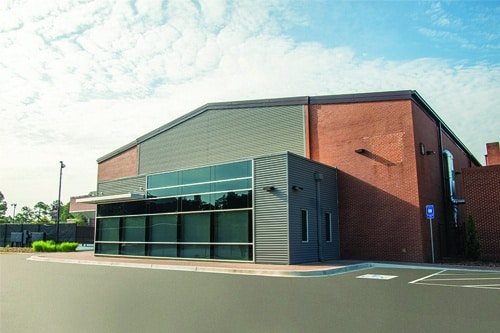 Hanner Fieldhouse building